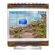 Beach Ball Dreamland Shower Curtain
