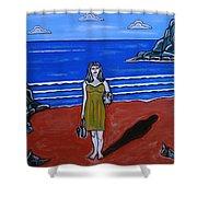 Beach Chic Shower Curtain