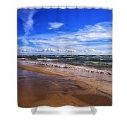 Beach Combing Shower Curtain
