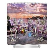 Beach Committee Shower Curtain