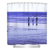 Beach Day Afternoon Shower Curtain