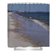 Beach Day II Shower Curtain