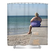 Beach Dreamer Shower Curtain