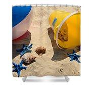 Beach Fun Shower Curtain