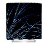 Beach Grass Abstract Shower Curtain