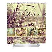 Beach Grass Two  Shower Curtain
