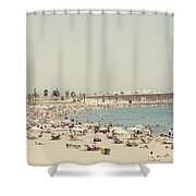 Beach Holiday Shower Curtain
