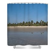 Beach In Goa Shower Curtain