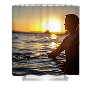 Beach Lifestyle Shower Curtain