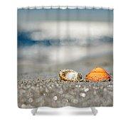 Beach Lovers Shower Curtain