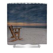 Beach Morning Shower Curtain