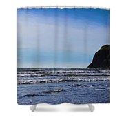 Beach On The Oregon Coast Shower Curtain