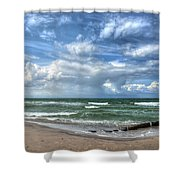 Beach Prerow Shower Curtain
