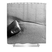 Beach Rock Shower Curtain