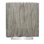 Beach Sand Pattern Shower Curtain