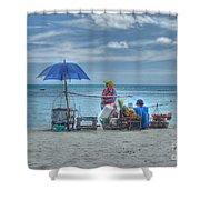 Beach Sellers Shower Curtain
