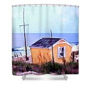 Beach Shack At Nags Head Shower Curtain