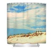 Beach Sky Shower Curtain