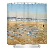 Beach Strollers  Shower Curtain