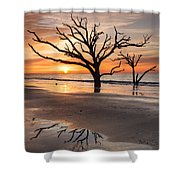 Awakening - Beach Sunrise Shower Curtain
