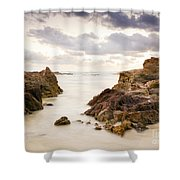 Beach Sunrise Shower Curtain
