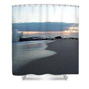 Beach Surf Shower Curtain