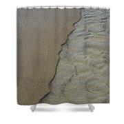 Beach Texture Shower Curtain