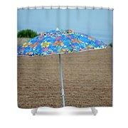 Beach Time Shower Curtain
