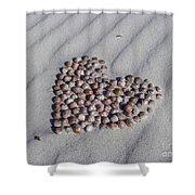 Beach Treasure Shower Curtain