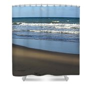 Beach Waves 1 Shower Curtain