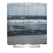 Beach Waves 2 Shower Curtain