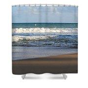 Beach Waves 3 Shower Curtain
