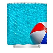 Beachball 1 Shower Curtain