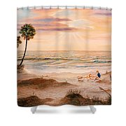 Beachcombers Shower Curtain