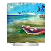 Beached Shower Curtain