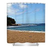 Beachfront Shower Curtain