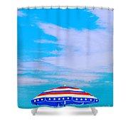 Beachtime Usa Shower Curtain