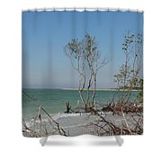 Fort De Soto Beachview Shower Curtain