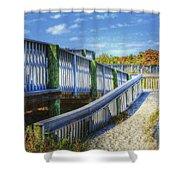 Beachwalk Shower Curtain