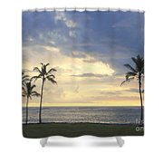Beachwalk Series - No 18 Shower Curtain