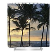 Beachwalk Series - No 7 Shower Curtain