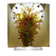 Beacon Gold Chandelier Shower Curtain