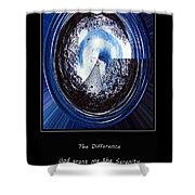 Beacon Of Hope - Serenity Prayer Shower Curtain