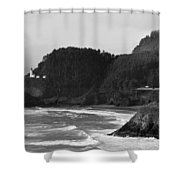 Beacon On The Bluff Shower Curtain