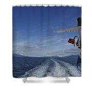 Beagle Channel Shower Curtain