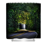 Beam Me Up Great Smoky Mountains Tennessee Mountains Art Shower Curtain