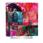 Bean Town Shower Curtain by Jimi Bush