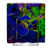 Beanstalk Shower Curtain