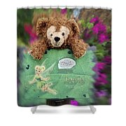 Bear And His Girl Shower Curtain