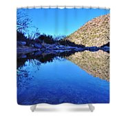 Bear Canyon Pool Shower Curtain